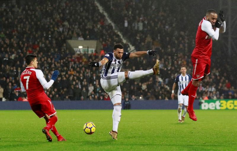West Bromwich Albion melawan Arsenal